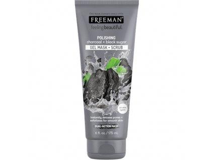 Freeman Detoxikační Pleťová Maska S Obsahem Černého Uhlí 175ml USA