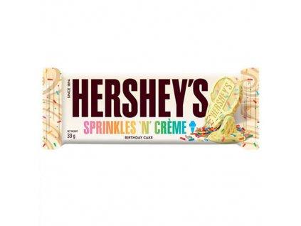 Hershey s Sprinkles n Creme Birthday Cake Chocolate 39g USA