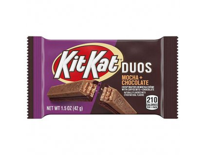 KitKat Duos Mocha Chocolate 42g USA