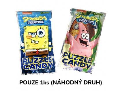 Nickelodeon Spogebob Puzzle Candy Náhodný Druh 1ks 14g CHN