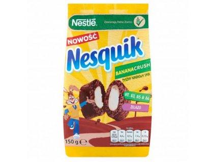 Nestlé Nesquik Banana Crush Snídaňové Cereálie 150g POL