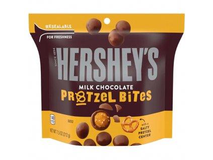 Hershey s Milk Chocolate Pretzel Bites 212g USA