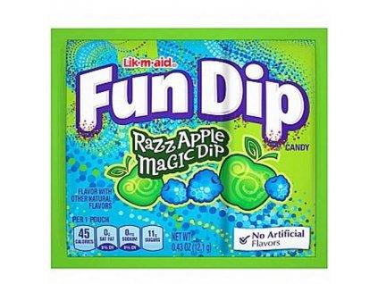 Wonka Fun Dip Lízátko A Prášek Razz Apple 12,1g MEX
