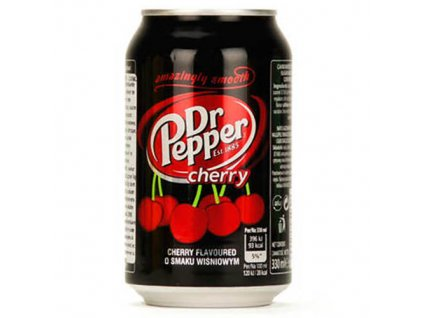 Dr. Pepper Cherry 330ml POL