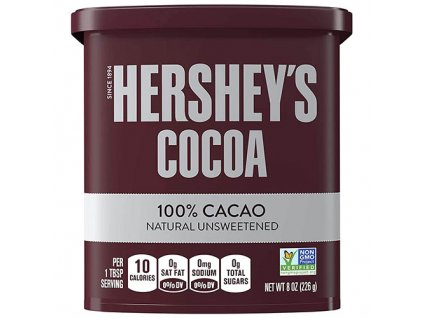 Hershey s Cocoa 100 Natural Unsweetened 226g USA