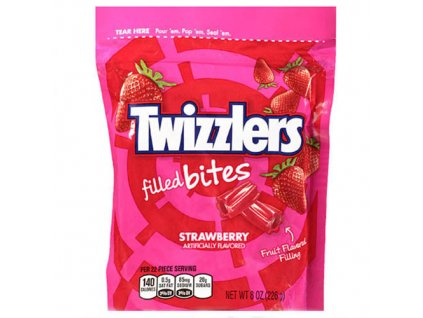 Twizzlers Filled Bites Strawberry 226g USA