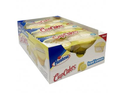 Hostess Iced Lemon Cupcakes Balení 539g USA