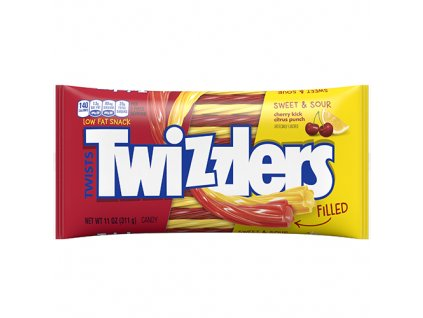 Twizzlers Cherry Citrus Sweet Sour Filled 311g USA