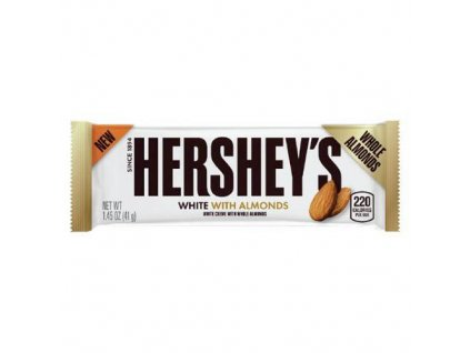 Hershey s White With Whole Almonds 41g USA
