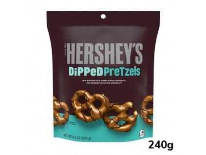 Hershey's Chocolate Dipped Pretzels 240g USA