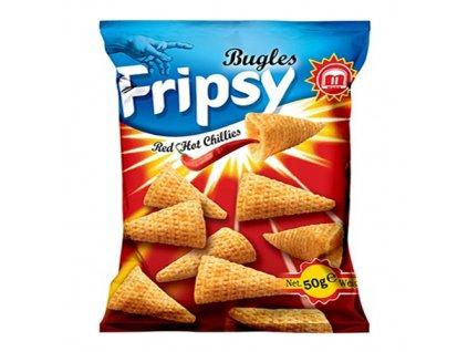 Maks Bugles Fripsy Red Hot Chillies 50g MKD