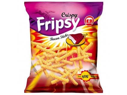 Maks Crispy Fripsy Bacon Sticks 50g MKD