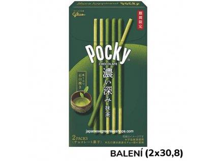 Glico Pocky Matcha Balení 82g (2x41g) JAP