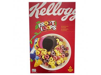 Kellogg's Froot Loops Cereals 375g UK