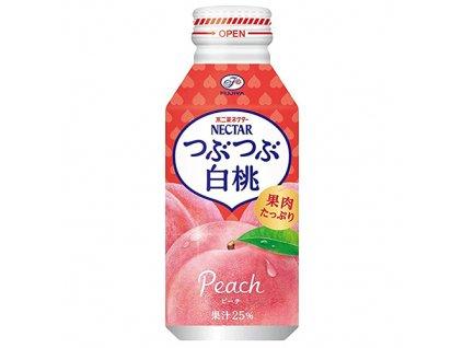 Fujiya Tubutubu Peach Juice 380ml JAP