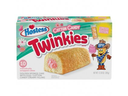 Hostess Twinkies Cotton Candy Limitovaná Edice Balení 385g USA