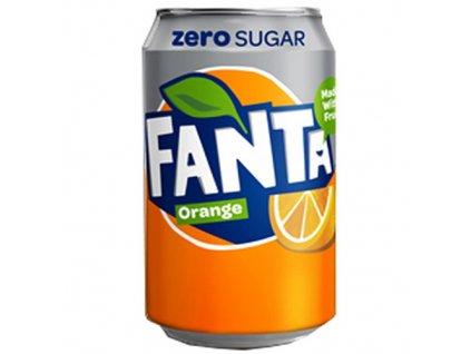 Fanta Orange Zero 330ml DEU