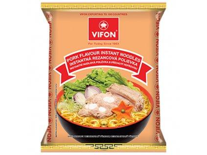 Vifon Pork Flavour Vepřové Instantní Nudle 60g VNM