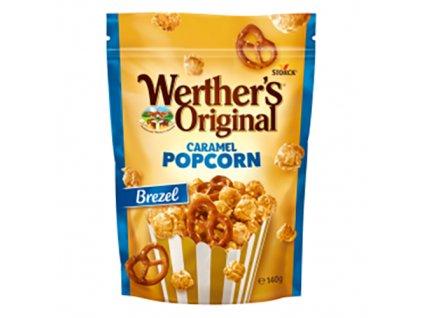 Storck Werther s Original Caramel Popcorn Brezel 140g DEU