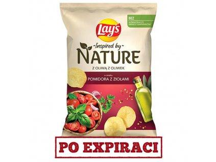 Lay's Nature S Olivovým Olejem Rajče a Bylinky 120g POL