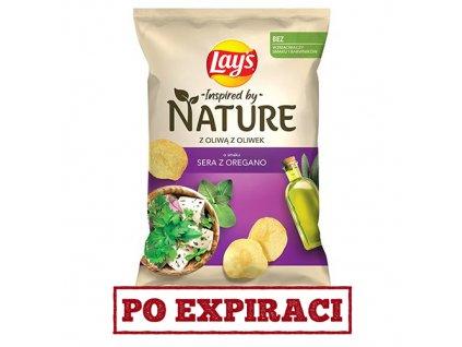 Lay's Nature S Olivovým Olejem Sýr A Oregano 120g POL