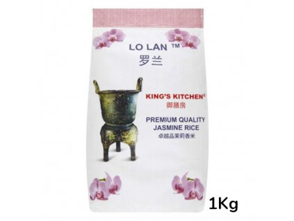 Lo Lan King's Kitchen Jasmínová Rýže 1kg CAM
