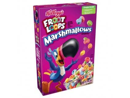 Kellog's Floot Loops Snídaňové Cereálie S Masrhmallows 297g USA