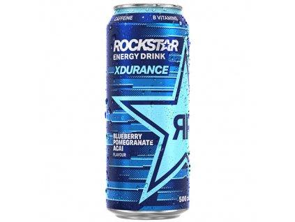 Rockstar Energy Drink Xdurance Blueberry Pomegranate Acai 500ml CZE