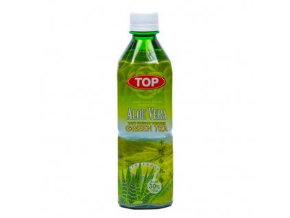 Top Aloe Vera Drink Green Tea 500ml TWN