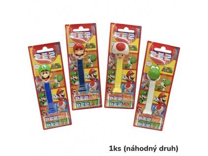 PEZ Figurka Super Mario Náhodný Druh 1ks 17g EU
