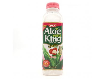 Nápoj Aloe Vera liči, 500ml - PEPIS.SHOP