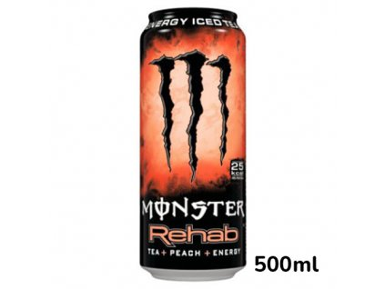 monster energy rehab peach energy drink