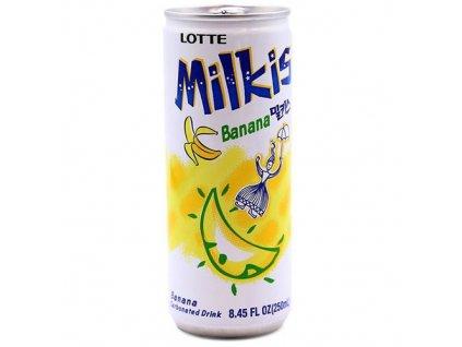 25814 25814 lotte milkis mlecna sodovka prichut banan 200ml