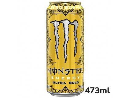 Monster Energy Drink Ultra Gold Zero 473ml USA