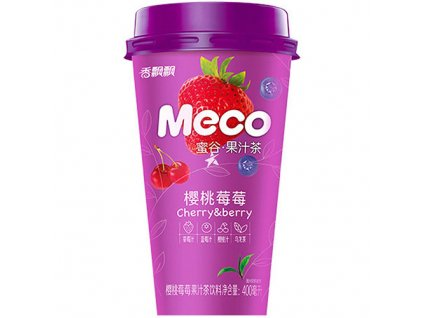 Meco Ovocný Nápoj Cherry and Strawberry 400ml CHN