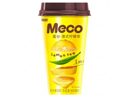 Meco Ovocný Nápoj Hong Kong Style Lemon Tea 400ml CHN