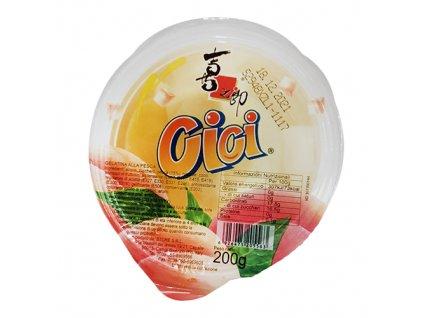Cici Jelly Gelatin Peach 200g ITA