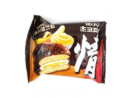 Choco pie marshmallow banán 1ks, 37g - PEPIS.SHOP