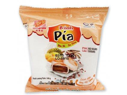 Bánh Pia Koláček Red Beans Durian 1ks 100g VNM
