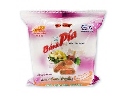 Bánh Pia Koláček Taro Durian s Vajíčkem 1ks 150g VNM