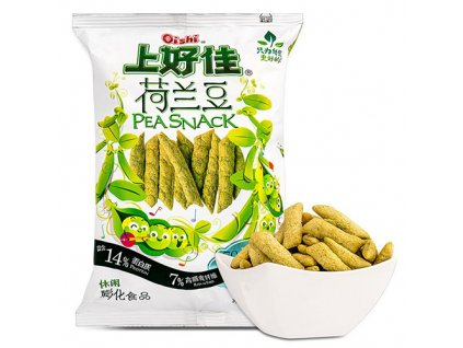 Oishi Pea Snack Křupky 55g CHN