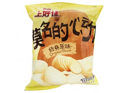 Oishi Potato Chips Original 50g CHN