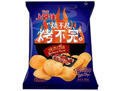 Oishi Potato Chips Barbecue 50g CHN