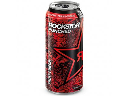 Rockstar Energy Drink Punched Fruit Punch 473ml USA
