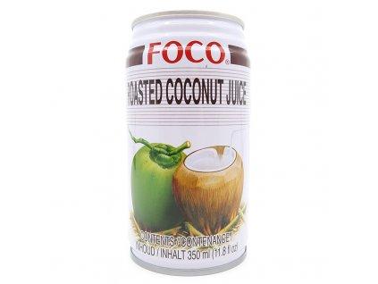 212 1 foco kokosovy napoj s kousky pecene kokosove duziny 350ml