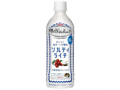 Kirin Okinawa Sea Salt Lychee Drink 500ml JAP