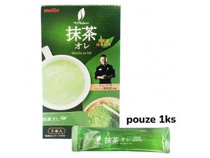 Meito Matcha Milk Tea Premix 1ks 8g JAP