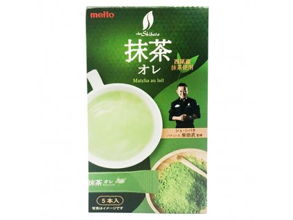 Meito Matcha Milk Tea Premix Balení (5x8g) JAP