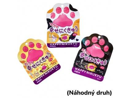PUNI-FUWA Senjaku Happy Nikukyu Jelly Paws Grape Candy Náhodný Druh 1ks 30g JAP