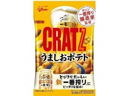 Glico Cratz Salt Potato Nuts Mix 42g JAP